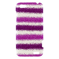 Pink Christmas Background HTC One V Hardshell Case