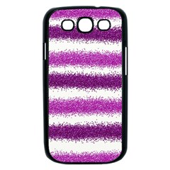Pink Christmas Background Samsung Galaxy S III Case (Black)