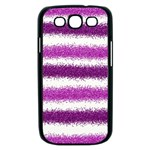 Pink Christmas Background Samsung Galaxy S III Case (Black) Front