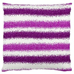 Pink Christmas Background Large Cushion Case (One Side)