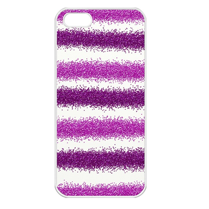Pink Christmas Background Apple iPhone 5 Seamless Case (White)