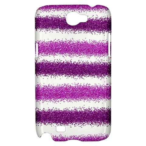 Pink Christmas Background Samsung Galaxy Note 2 Hardshell Case