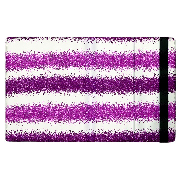 Pink Christmas Background Apple iPad 2 Flip Case