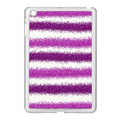 Pink Christmas Background Apple iPad Mini Case (White)