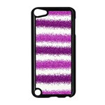 Pink Christmas Background Apple iPod Touch 5 Case (Black) Front