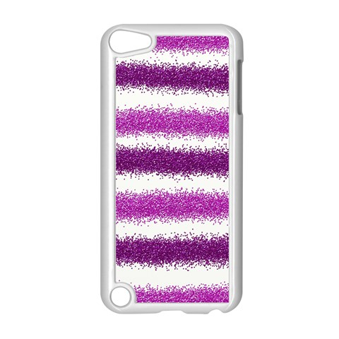 Pink Christmas Background Apple iPod Touch 5 Case (White)
