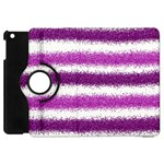 Pink Christmas Background Apple iPad Mini Flip 360 Case Front