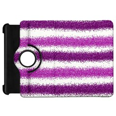 Pink Christmas Background Kindle Fire HD Flip 360 Case