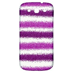 Pink Christmas Background Samsung Galaxy S3 S III Classic Hardshell Back Case