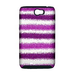 Pink Christmas Background Samsung Galaxy Note 2 Hardshell Case (PC+Silicone)