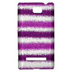 Pink Christmas Background HTC 8S Hardshell Case