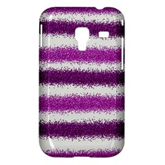 Pink Christmas Background Samsung Galaxy Ace Plus S7500 Hardshell Case