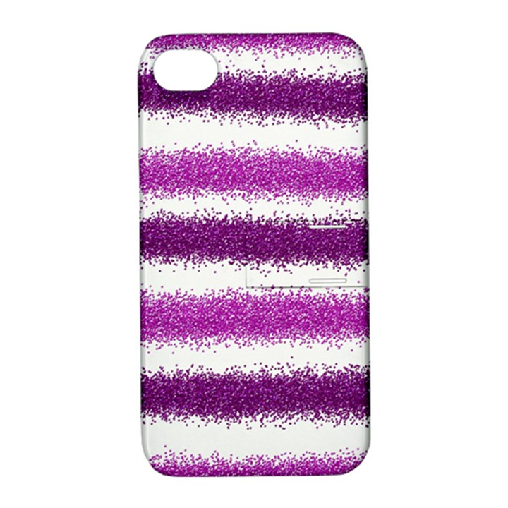 Pink Christmas Background Apple iPhone 4/4S Hardshell Case with Stand