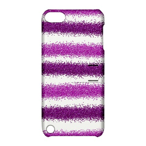 Pink Christmas Background Apple iPod Touch 5 Hardshell Case with Stand