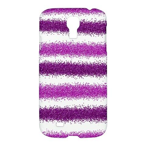 Pink Christmas Background Samsung Galaxy S4 I9500/I9505 Hardshell Case