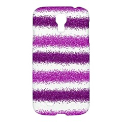 Pink Christmas Background Samsung Galaxy S4 I9500/I9505 Hardshell Case