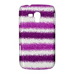 Pink Christmas Background Samsung Galaxy Duos I8262 Hardshell Case