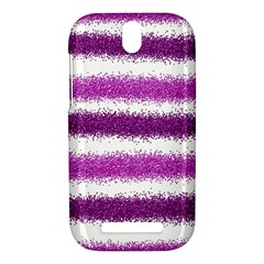 Pink Christmas Background HTC One SV Hardshell Case