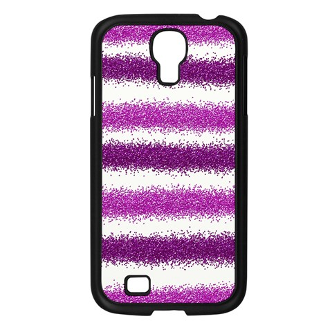Pink Christmas Background Samsung Galaxy S4 I9500/ I9505 Case (Black)