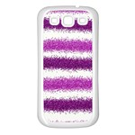 Pink Christmas Background Samsung Galaxy S3 Back Case (White) Front