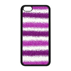 Pink Christmas Background Apple iPhone 5C Seamless Case (Black)