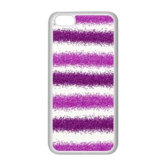 Pink Christmas Background Apple iPhone 5C Seamless Case (White)