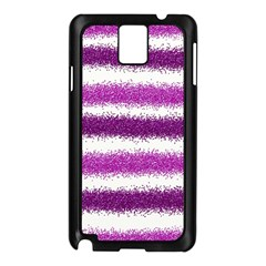 Pink Christmas Background Samsung Galaxy Note 3 N9005 Case (Black)