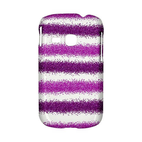 Pink Christmas Background Samsung Galaxy S6310 Hardshell Case