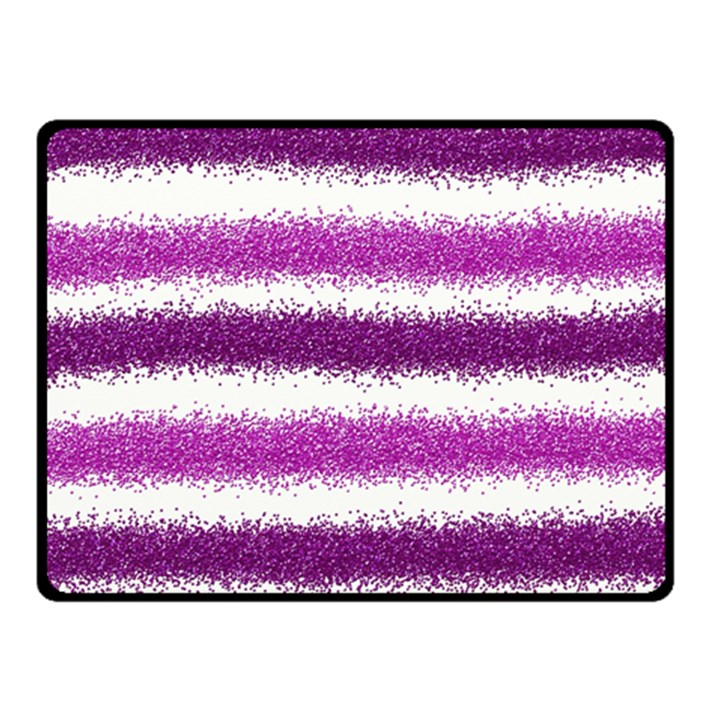 Pink Christmas Background Double Sided Fleece Blanket (Small)