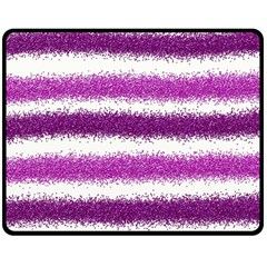 Pink Christmas Background Double Sided Fleece Blanket (Medium)