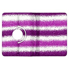Pink Christmas Background Kindle Fire HDX Flip 360 Case