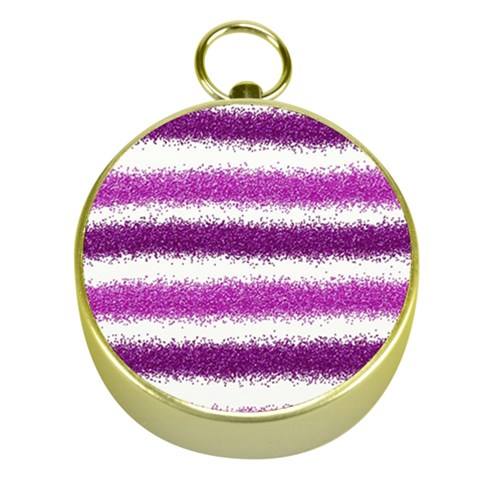 Pink Christmas Background Gold Compasses