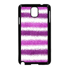 Pink Christmas Background Samsung Galaxy Note 3 Neo Hardshell Case (Black)