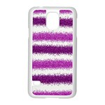 Pink Christmas Background Samsung Galaxy S5 Case (White) Front