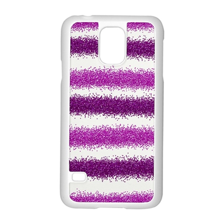 Pink Christmas Background Samsung Galaxy S5 Case (White)