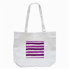 Pink Christmas Background Tote Bag (White)