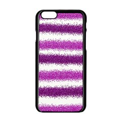 Pink Christmas Background Apple iPhone 6/6S Black Enamel Case
