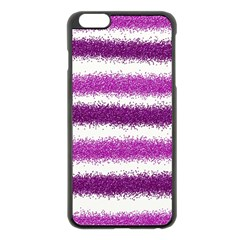 Pink Christmas Background Apple iPhone 6 Plus/6S Plus Black Enamel Case