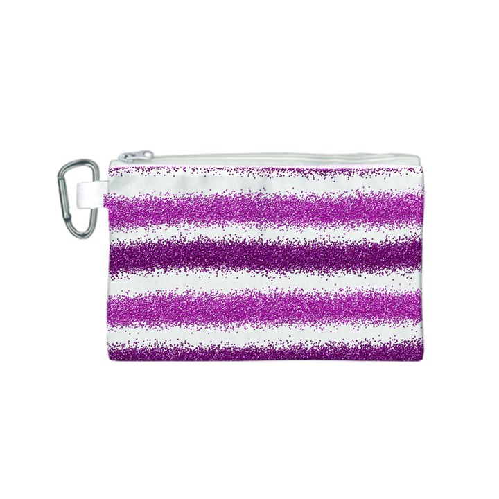 Pink Christmas Background Canvas Cosmetic Bag (S)