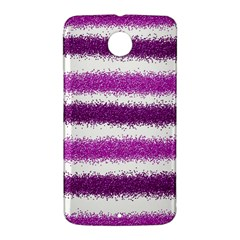 Pink Christmas Background Nexus 6 Case (White)