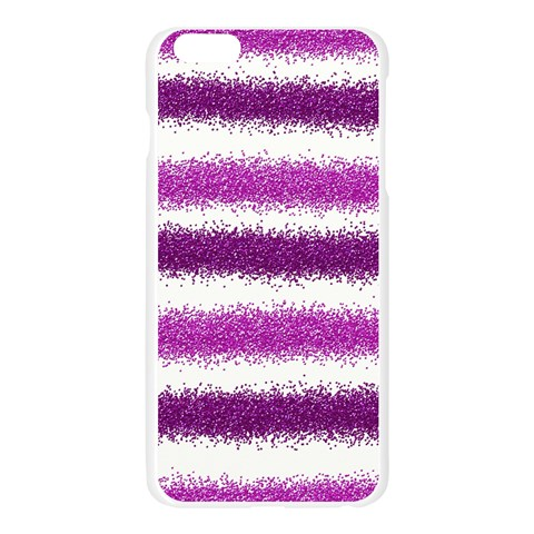 Pink Christmas Background Apple Seamless iPhone 6 Plus/6S Plus Case (Transparent)