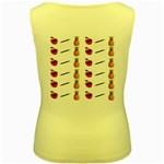 Ppap Pen Pineapple Apple Pen Women s Yellow Tank Top Back