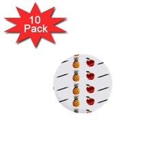 Ppap Pen Pineapple Apple Pen 1  Mini Buttons (10 pack)