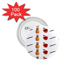 Ppap Pen Pineapple Apple Pen 1.75  Buttons (100 pack)
