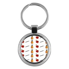 Ppap Pen Pineapple Apple Pen Key Chains (Round)