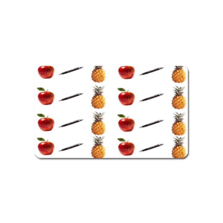 Ppap Pen Pineapple Apple Pen Magnet (Name Card)