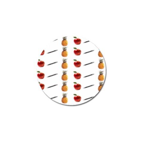 Ppap Pen Pineapple Apple Pen Golf Ball Marker (4 pack)