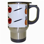 Ppap Pen Pineapple Apple Pen Travel Mugs (White) Right