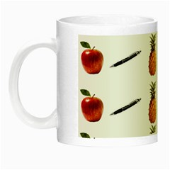 Ppap Pen Pineapple Apple Pen Night Luminous Mugs