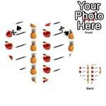 Ppap Pen Pineapple Apple Pen Playing Cards 54 (Heart)  Front - SpadeK